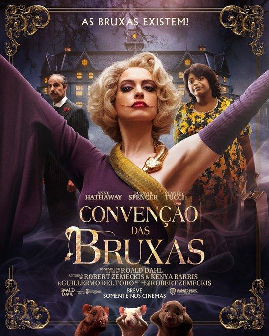 Reboot De Convencao Das Bruxas Ganha Poster E Trailer Legendado Nos Eua Filme Chegara Direto Pelo Hbo Max Engenharia Do Cinema