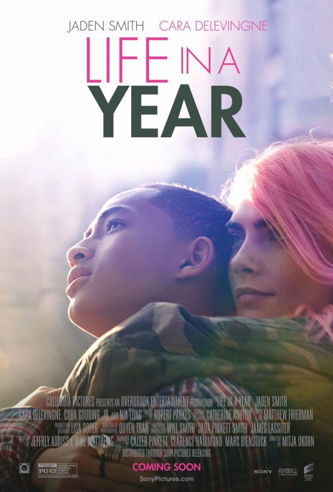 """Estrelado por Cara Delevingne e Jaden Smith, longa """"Life in a Year"""" ganha  pôster e trailer – Engenharia do Cinema"""